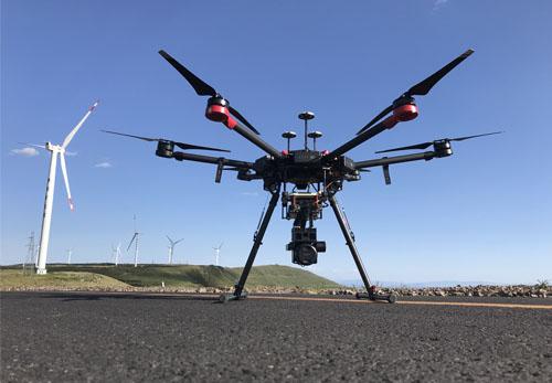 风机叶片检测无人机