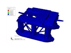 半潜式钻井平台全船结构有限元分析