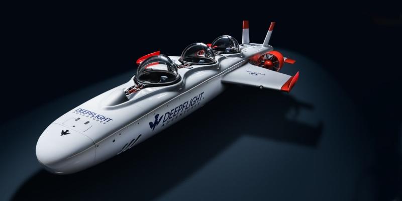 百米级三座载人观光潜水器