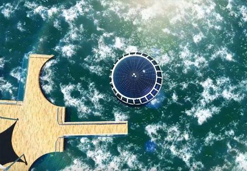太阳能游艇